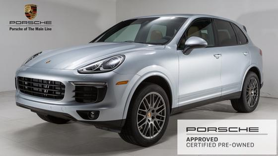 2018 Porsche Cayenne Platinum Edition:23 car images available