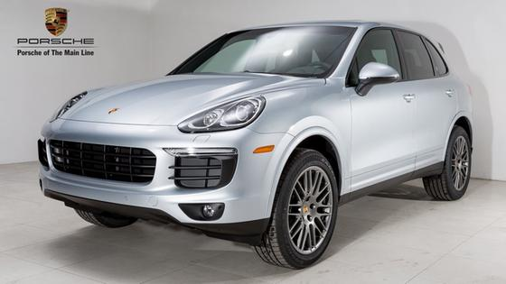 2018 Porsche Cayenne Platinum Edition:22 car images available