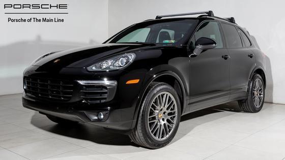 2017 Porsche Cayenne Platinum Edition:22 car images available
