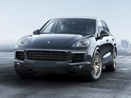 2017 Porsche Cayenne Platinum Edition : Car has generic photo