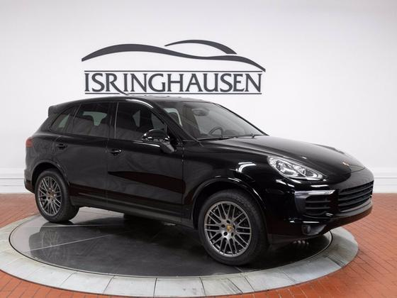 2017 Porsche Cayenne Platinum Edition:22 car images available