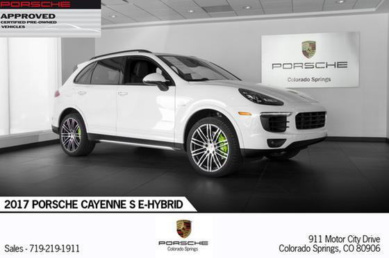 2017 Porsche Cayenne S E-Hybrid:24 car images available