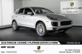 2018 Porsche Cayenne S E-Hybrid:24 car images available