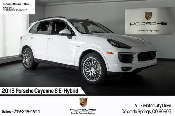 2018 Porsche Cayenne S E-Hybrid:24 car images available