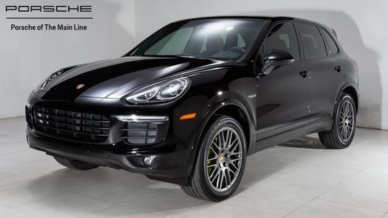 2017 Porsche Cayenne S Hybrid:23 car images available