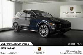 2017 Porsche Cayenne S:22 car images available