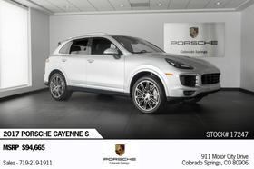 2017 Porsche Cayenne S:23 car images available