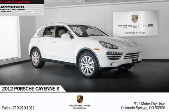 2012 Porsche Cayenne S:22 car images available