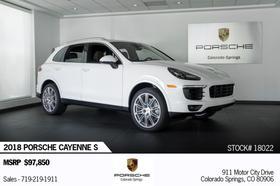 2018 Porsche Cayenne S:24 car images available