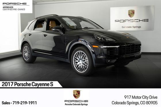 2017 Porsche Cayenne S:24 car images available