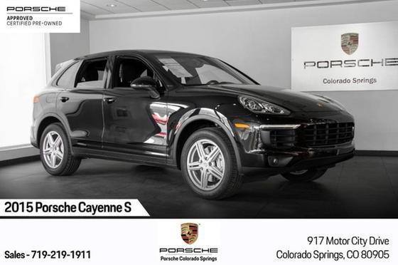 2015 Porsche Cayenne S:24 car images available