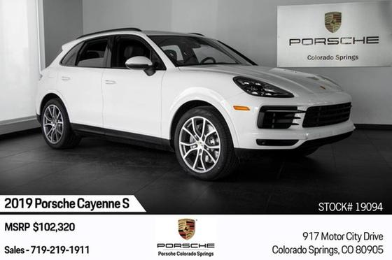 2019 Porsche Cayenne S:24 car images available