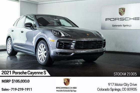2021 Porsche Cayenne S:24 car images available