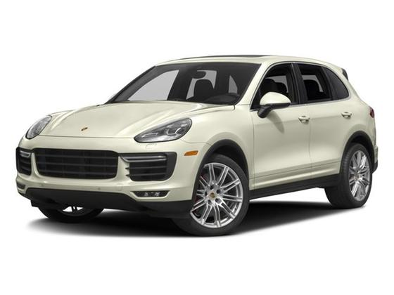 2016 Porsche Cayenne Turbo S : Car has generic photo