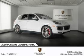 2015 Porsche Cayenne Turbo:24 car images available