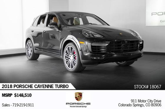 2018 Porsche Cayenne Turbo:24 car images available