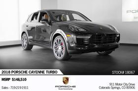 2018 Porsche Cayenne Turbo:24 car images available