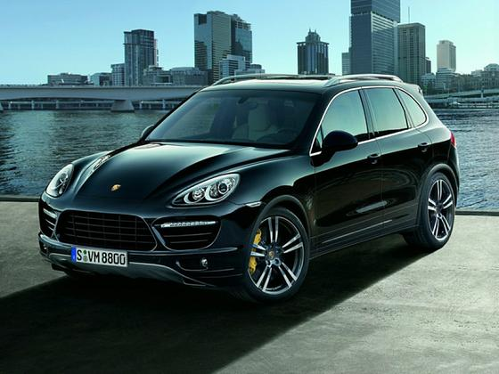 2014 Porsche Cayenne Turbo : Car has generic photo