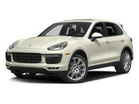 2017 Porsche Cayenne Turbo : Car has generic photo
