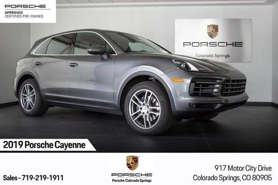 2019 Porsche Cayenne Turbo:17 car images available