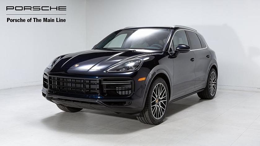 2021 Porsche Cayenne Turbo:22 car images available