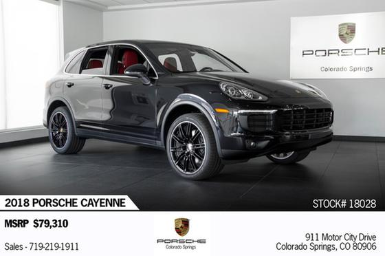 2018 Porsche Cayenne V6:24 car images available