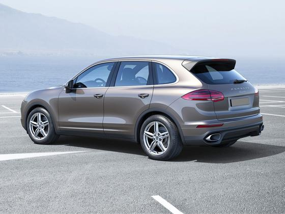 2017 Porsche Cayenne V6 : Car has generic photo