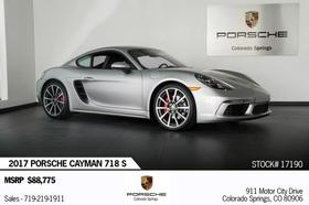 2017 Porsche Cayman :21 car images available