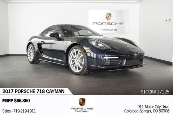 2017 Porsche Cayman :18 car images available