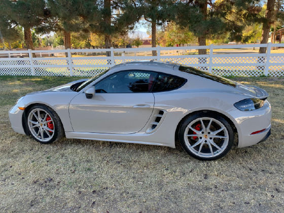 2018 Porsche Cayman 718 GTS:12 car images available