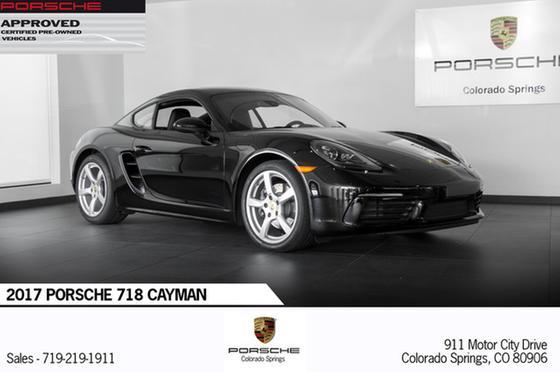 2017 Porsche Cayman 718:20 car images available
