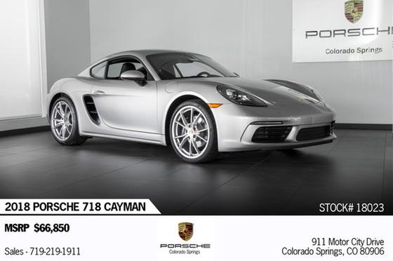 2018 Porsche Cayman 718:24 car images available