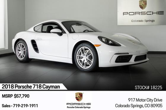 2018 Porsche Cayman 718:19 car images available