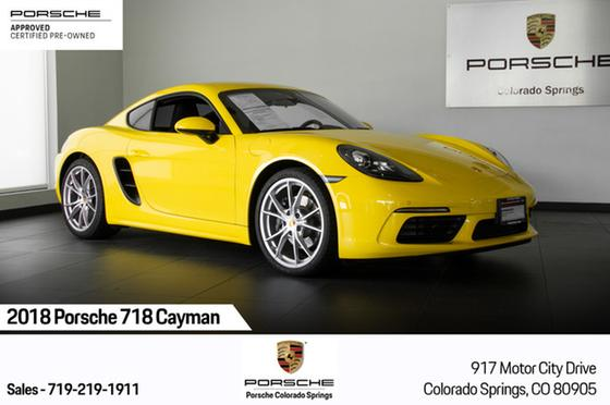 2018 Porsche Cayman 718:24 car images available