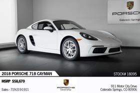 2018 Porsche Cayman 718:20 car images available