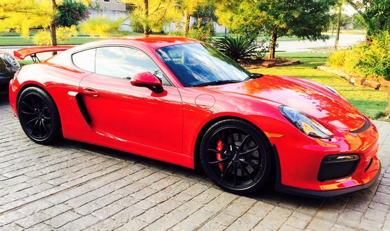 2016 Porsche Cayman GT4:12 car images available