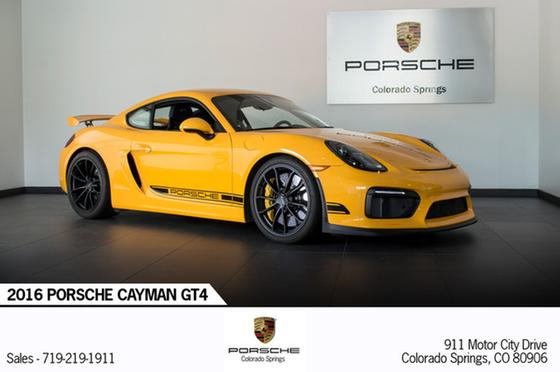 2016 Porsche Cayman GT4:23 car images available