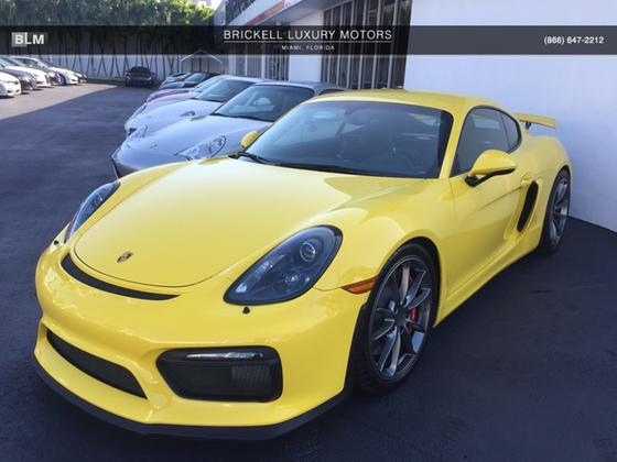 2016 Porsche Cayman GT4:7 car images available