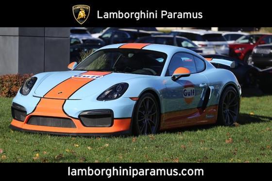 2016 Porsche Cayman Gt4 For Sale In Paramus Nj Exotic Car List