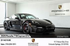 2020 Porsche Cayman GT4:24 car images available