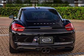 2016 Porsche Cayman S Black Edition