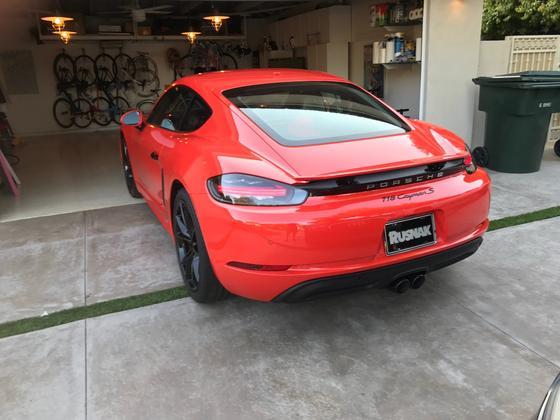 2017 Porsche Cayman S Sport