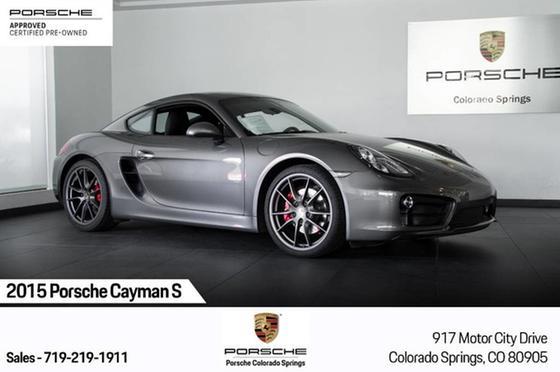 2015 Porsche Cayman S:23 car images available