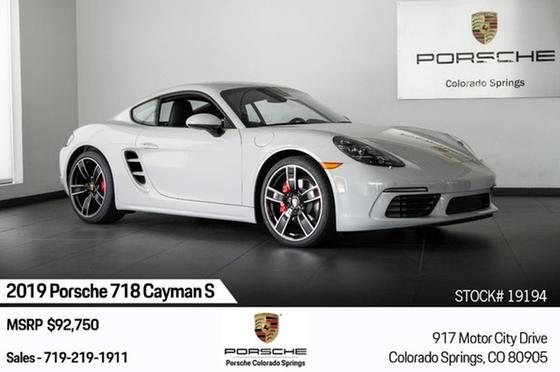 2019 Porsche Cayman S:24 car images available