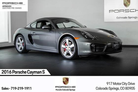 2016 Porsche Cayman S:23 car images available