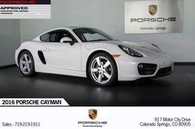 2016 Porsche Cayman V6:21 car images available