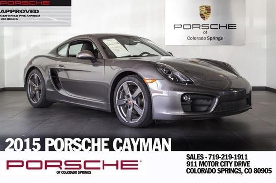 2015 Porsche Cayman V6:18 car images available
