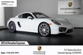 2016 Porsche Cayman V6:24 car images available