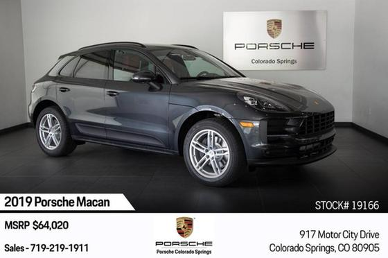 2019 Porsche Macan :20 car images available