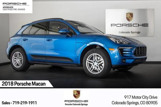 2018 Porsche Macan :16 car images available